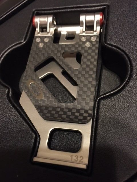 For Sale - Oakley Carbon Fiber METALWORKS Money Clip #132 ...