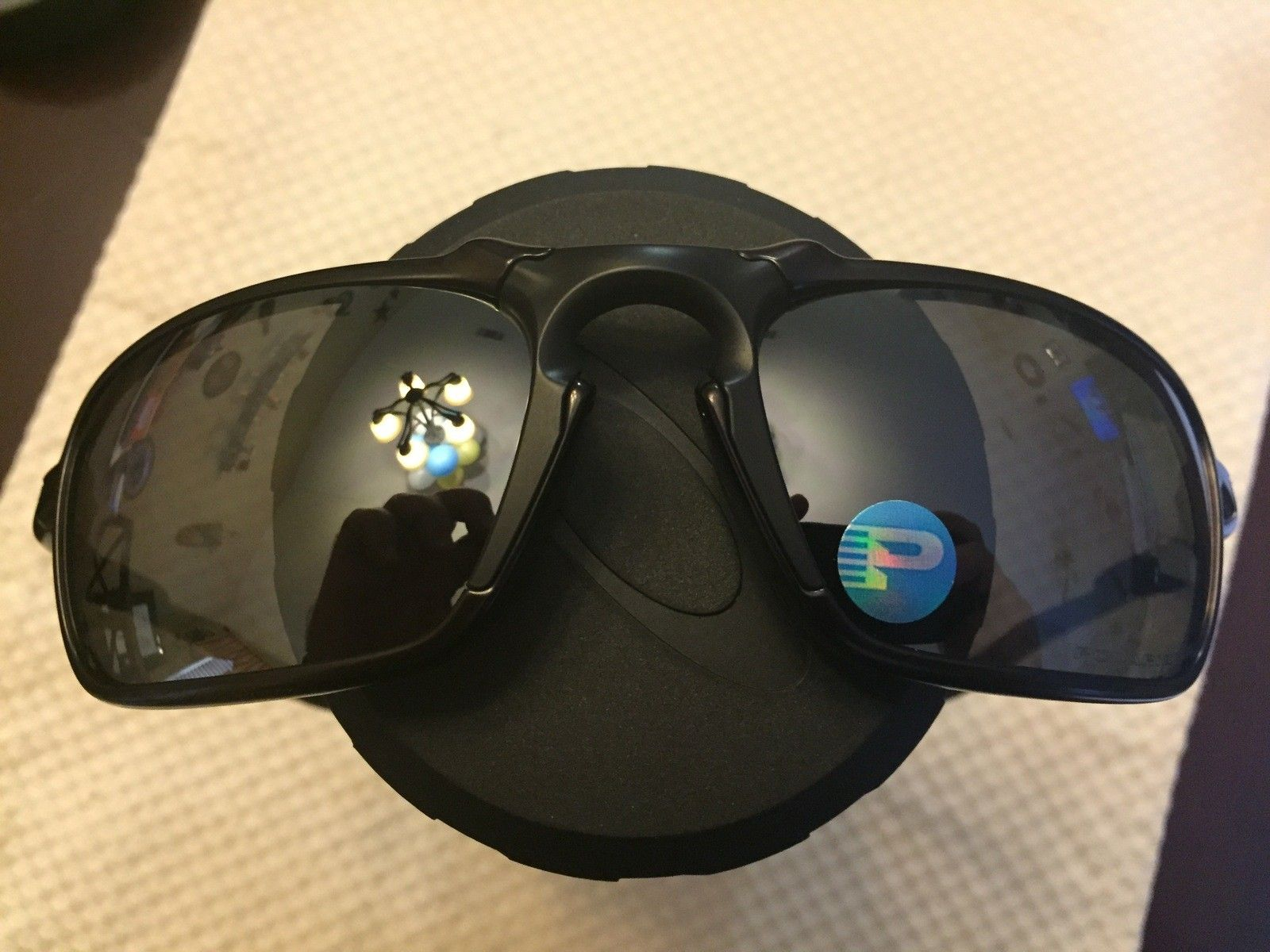 Just purchased some Oakley Badman glasses.  Fake? - IMG_3085.JPG