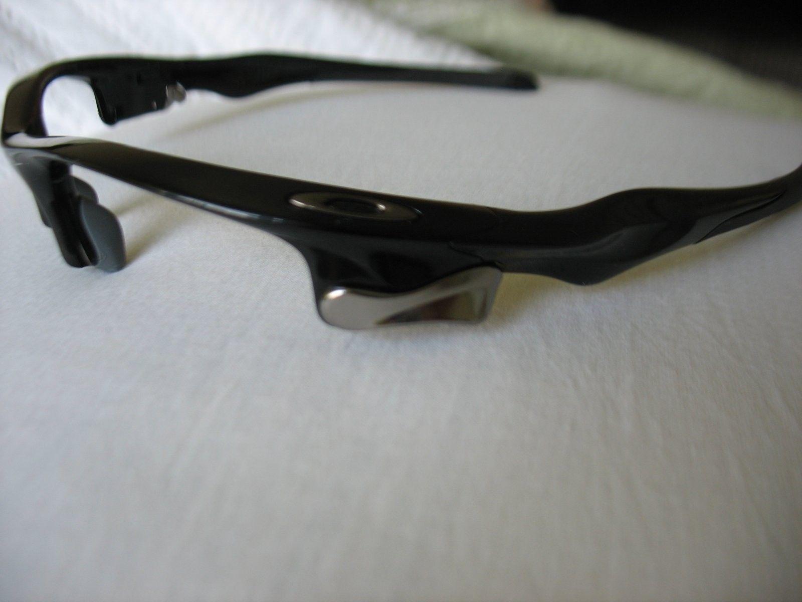 For Sale - Polished Black Fast Jacket Frame Only, New | Oakley Forum