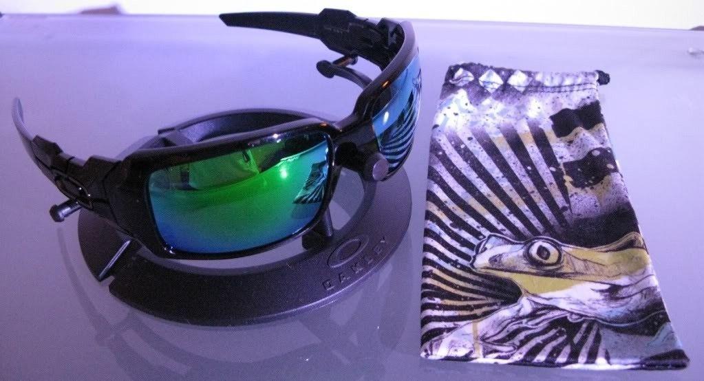 Oil Drum II Polished Black/VL Emerald Iridium Lenses/Sulphur Bag! Price Drop!!! - IMG_32282.jpg