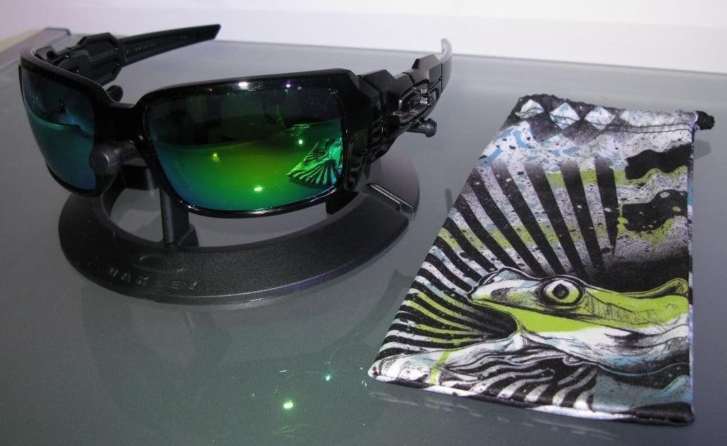 Oil Drum II Polished Black/VL Emerald Iridium Lenses/Sulphur Bag! Price Drop!!! - IMG_32392.jpg