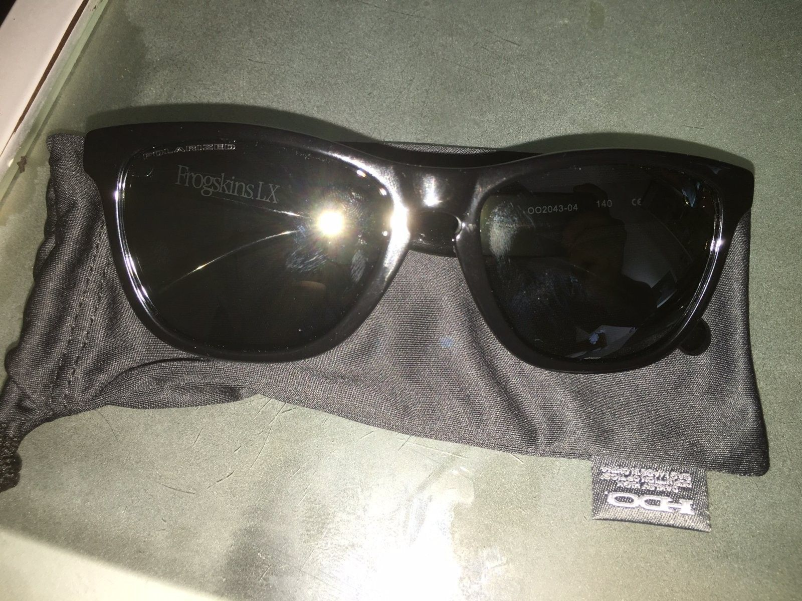 Frogskins LX OO2043-04 Authentic Check - IMG_3246.JPG