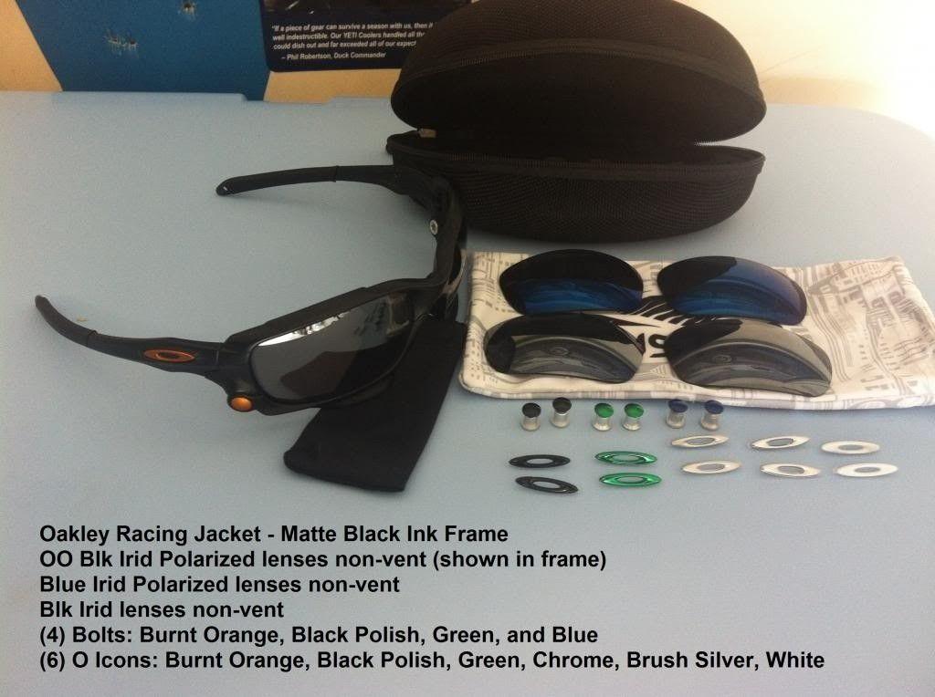 Racing Jacket - Matte Black W/3 Lenses, 4 Bolts, 6 O-icons - IMG_3265_zps04a847e6.jpg