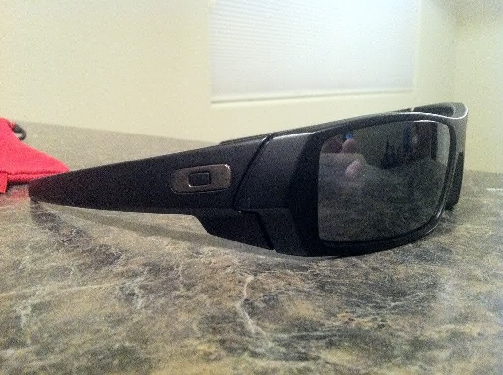 For Sale: Polarized Gascan's Matte Black/Black Iridium - IMG_3301.jpg