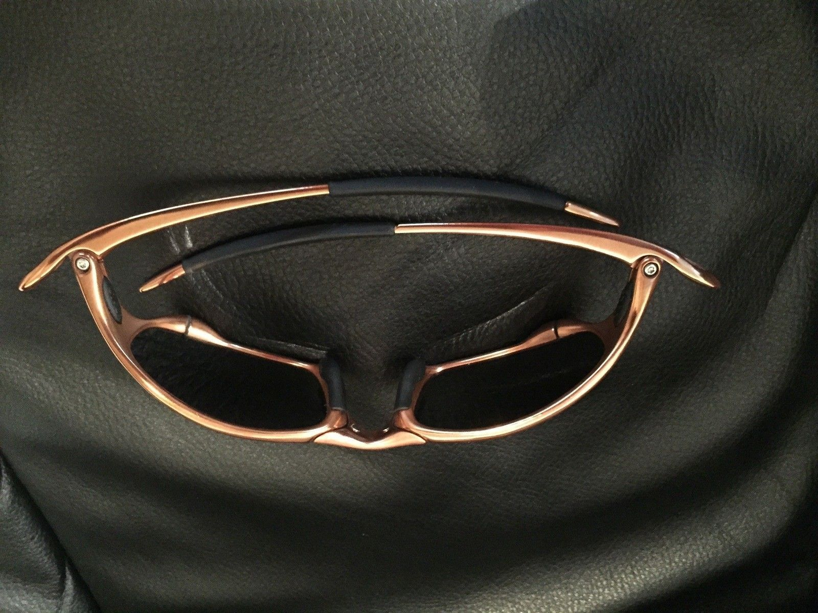 Custom Copper Plated Juliet w/ Custom Jade Polar Oakley Lenses - IMG_3339.jpg