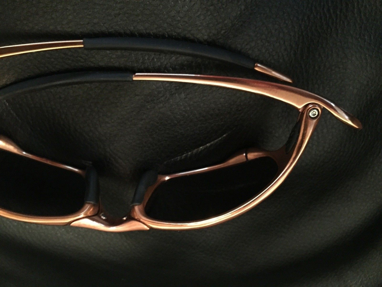 Custom Copper Plated Juliet w/ Custom Jade Polar Oakley Lenses - IMG_3341.jpg