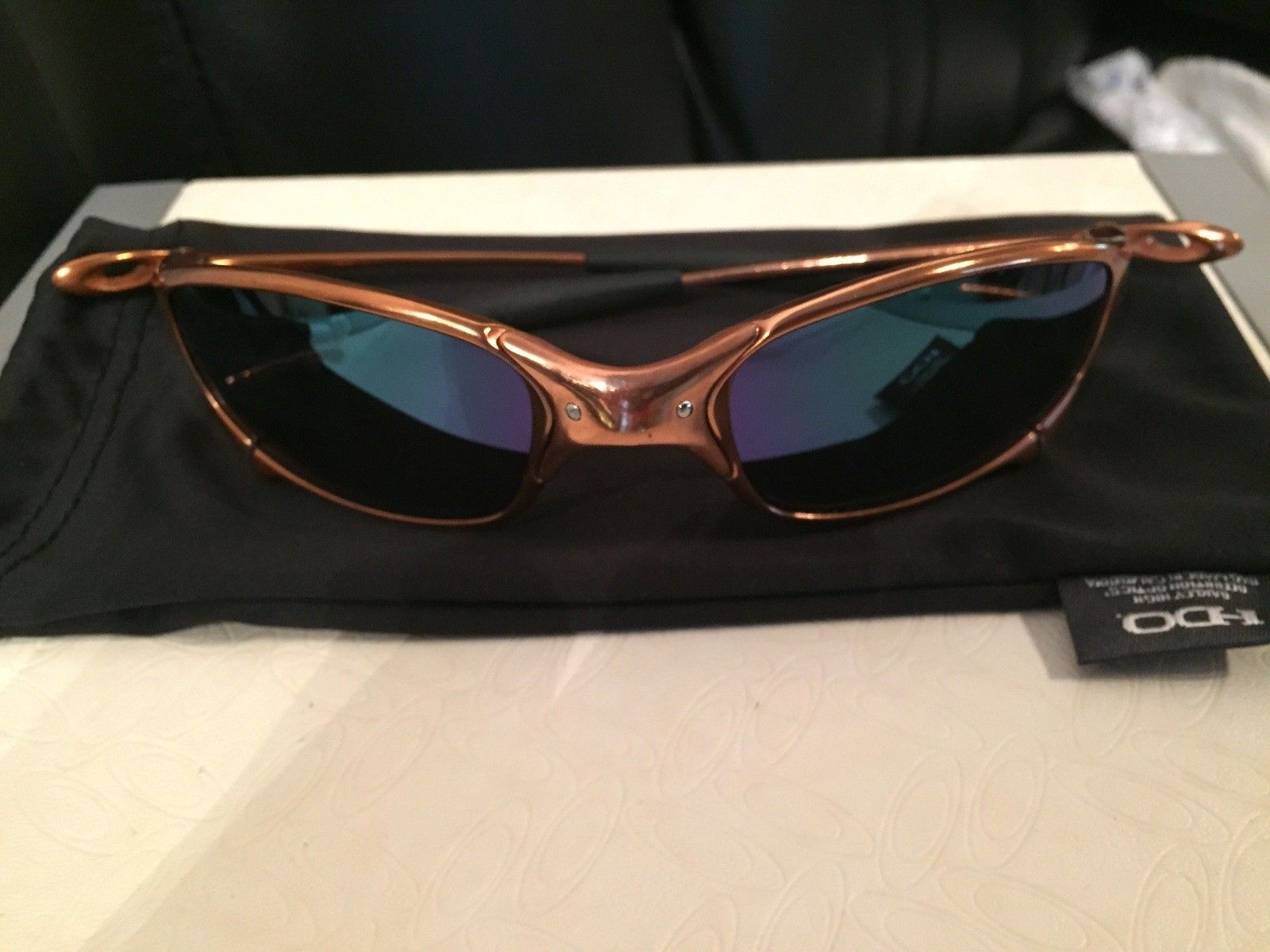 Custom Copper Plated Juliet w/ Custom Jade Polar Oakley Lenses - IMG_3342.jpg