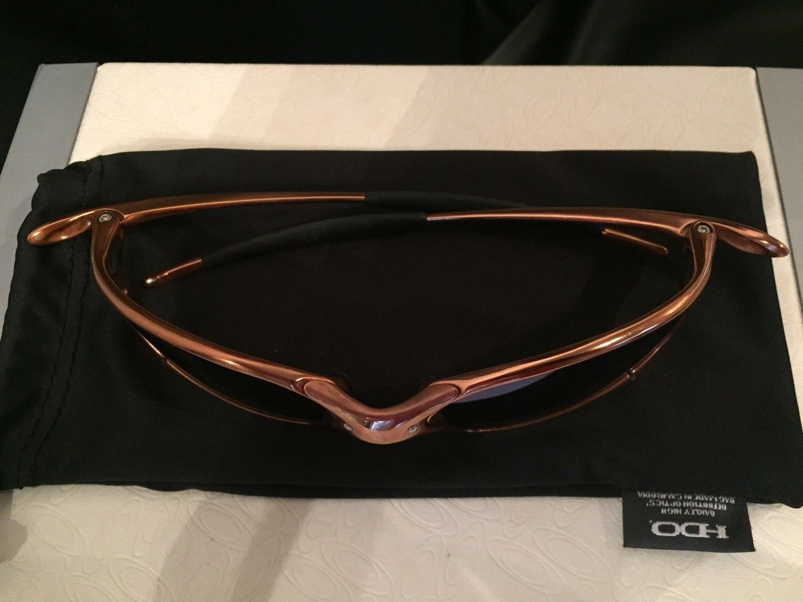 Custom Copper Plated Juliet w/ Custom Jade Polar Oakley Lenses - IMG_3343.jpg