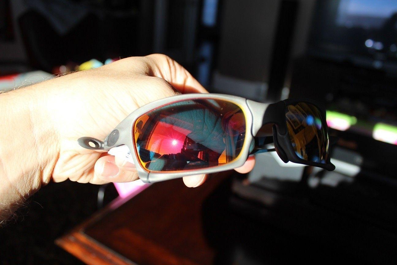 BNIB X-Squared X-metal Frame Ruby Iridium Lenses Purple Hue - IMG_3609.JPG