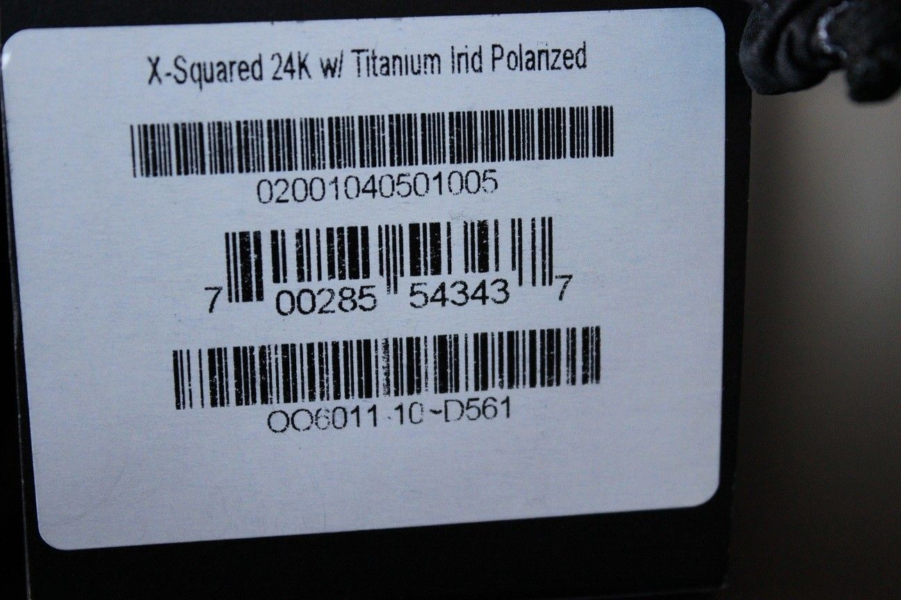 24K X-Squared BNIB price reduced to $1400 - IMG_3662.JPG