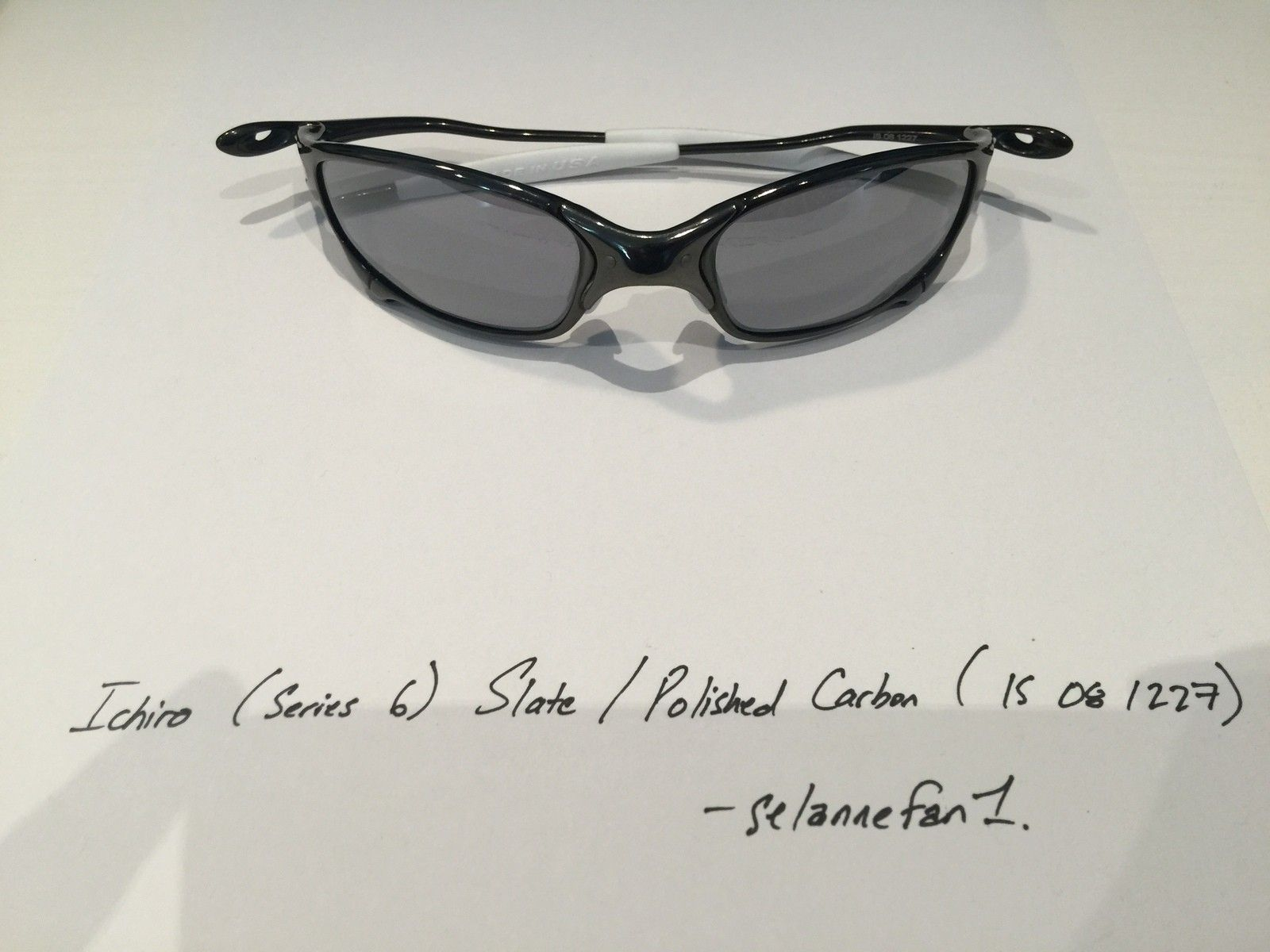Ichiro Polished Carbon / Slate Juliets (with serial) - IMG_3771.JPG