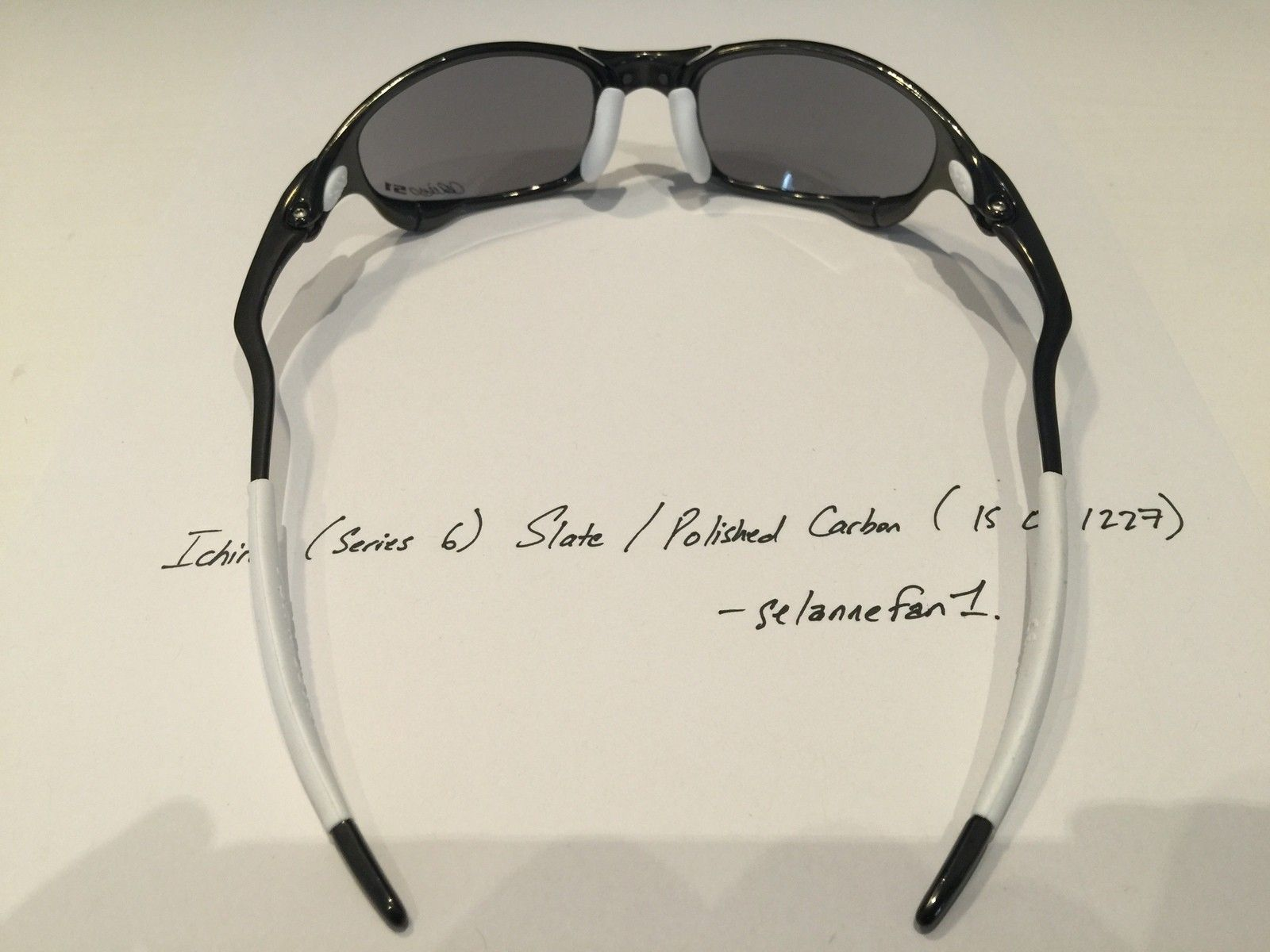 Ichiro Polished Carbon / Slate Juliets (with serial) - IMG_3777.JPG
