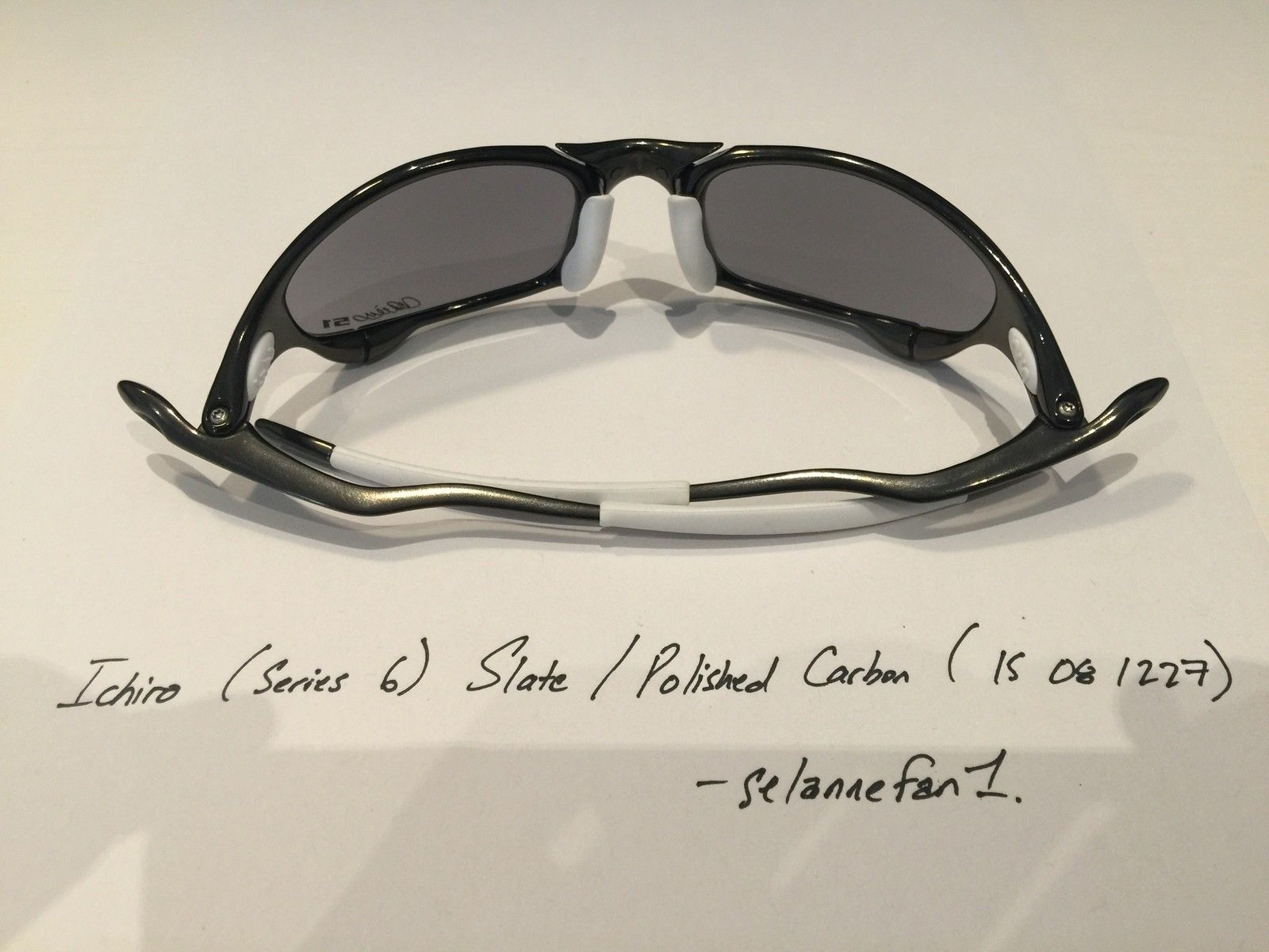 Ichiro Polished Carbon / Slate Juliets (with serial) - IMG_3778.JPG
