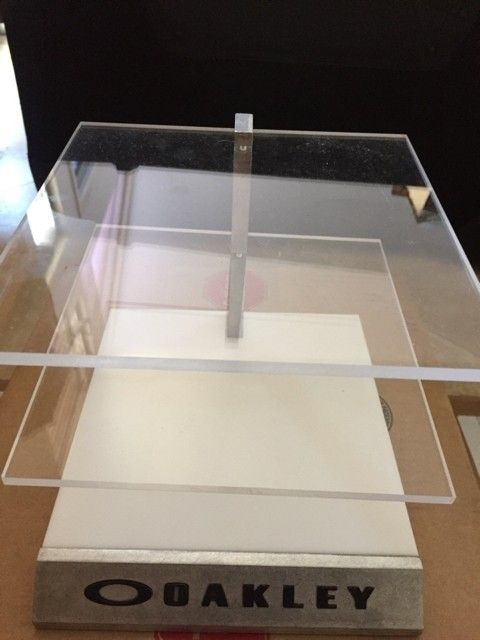 Lots of display items- acrylic blocks, stands, new metal stands, x metal displays, and more. - IMG_3780.JPG