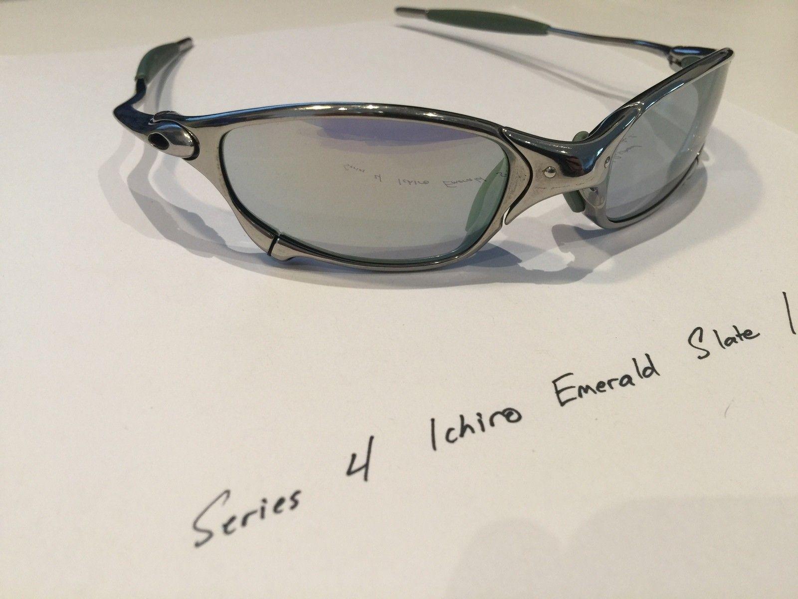 Ichiro Emerald Slate / Polished Frame Juliets (with box) - IMG_3815.JPG