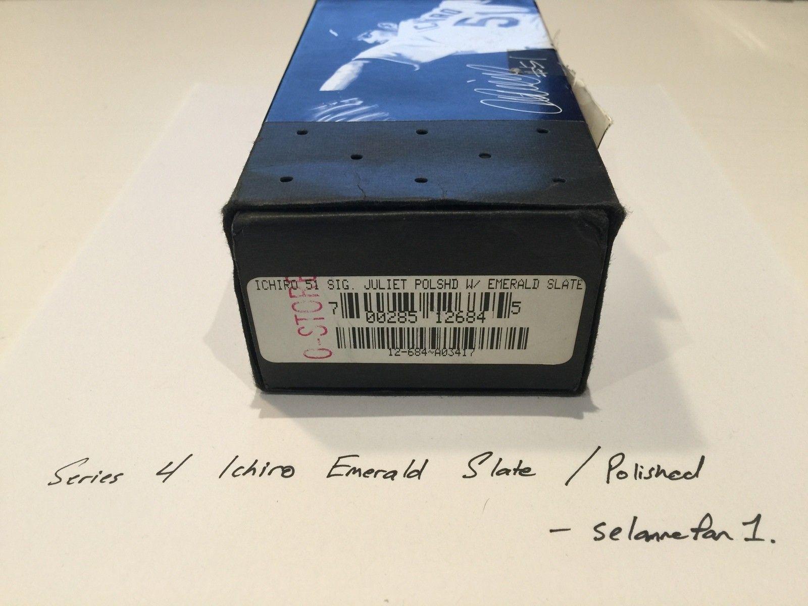 Ichiro Emerald Slate / Polished Frame Juliets (with box) - IMG_3823.JPG