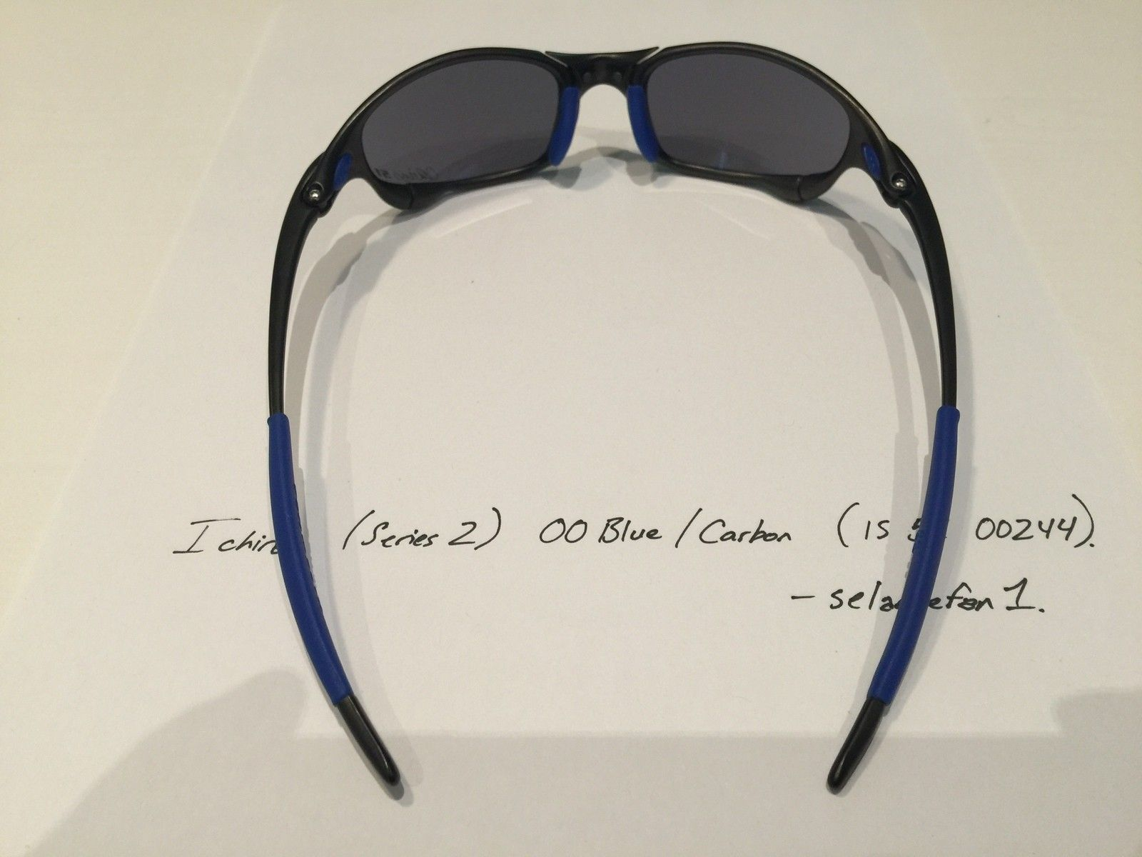 Ichiro OO Blue / Carbon Juliets (with Serial and Box) - IMG_3831.JPG