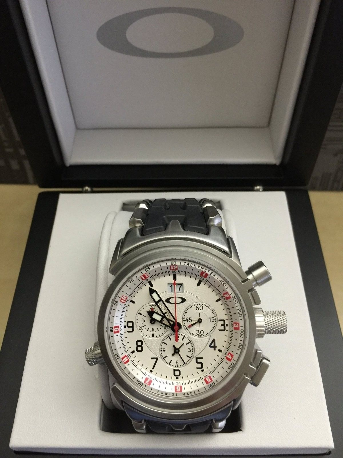 Watches for sale: Brand new 12 Gauge White Dial with Stainless Steel Bracelet (last one) - IMG_4443.JPG