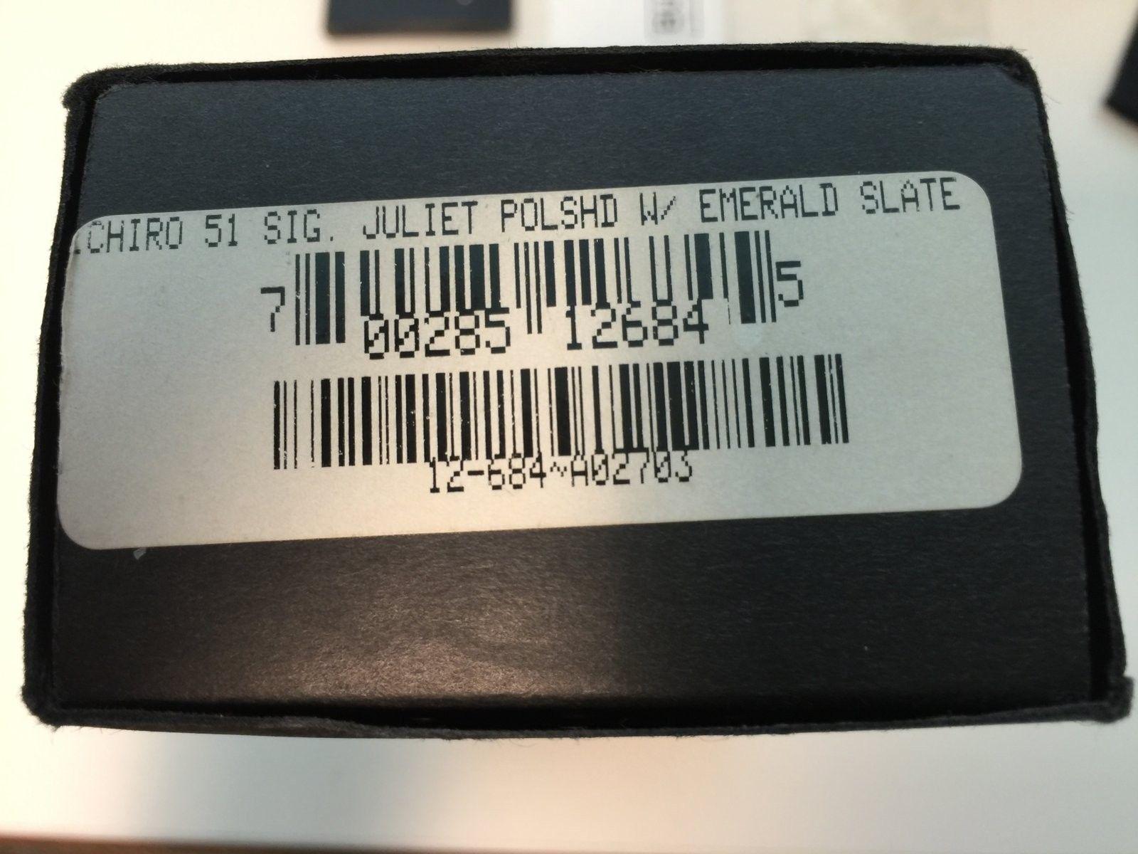 Polished /Emerald Slate Ichiro Juliet [US release, non-serial] - IMG_4482.JPG