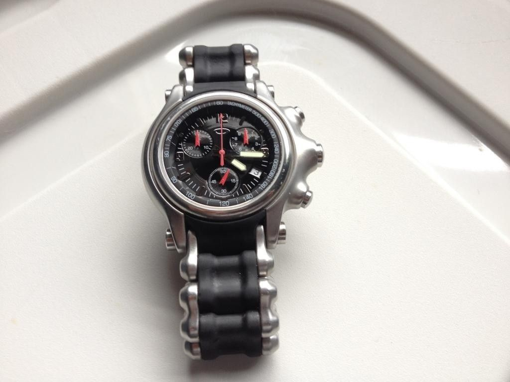 Matte Black PB1 And Black Dial SS Band Holeshot For Red Faced Minute Machine - IMG_4515.jpg