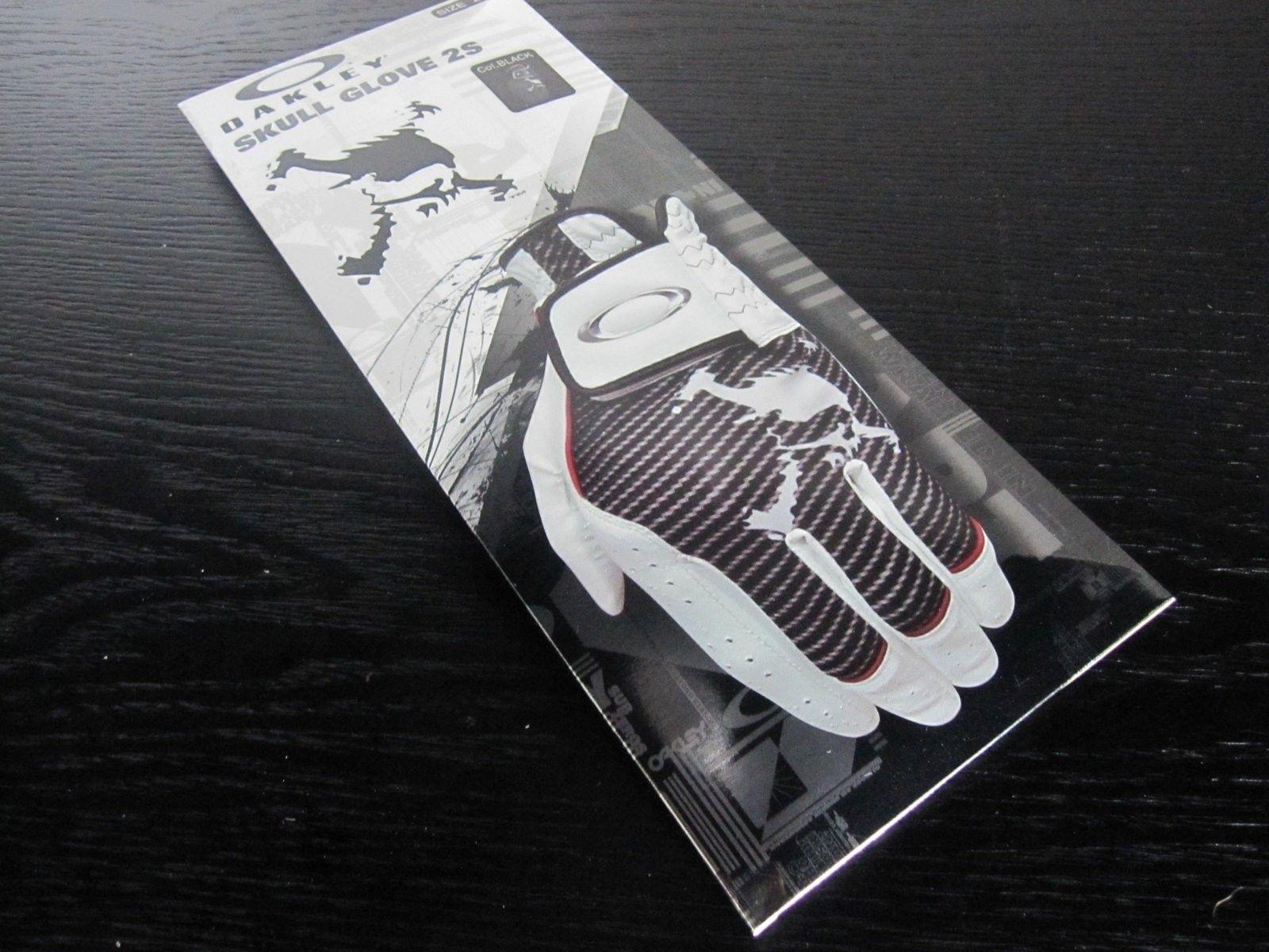 BNIB Oakley Japan Skull Golf Gloves - Various Sizes - *** LAST ONE *** - IMG_4570.JPG