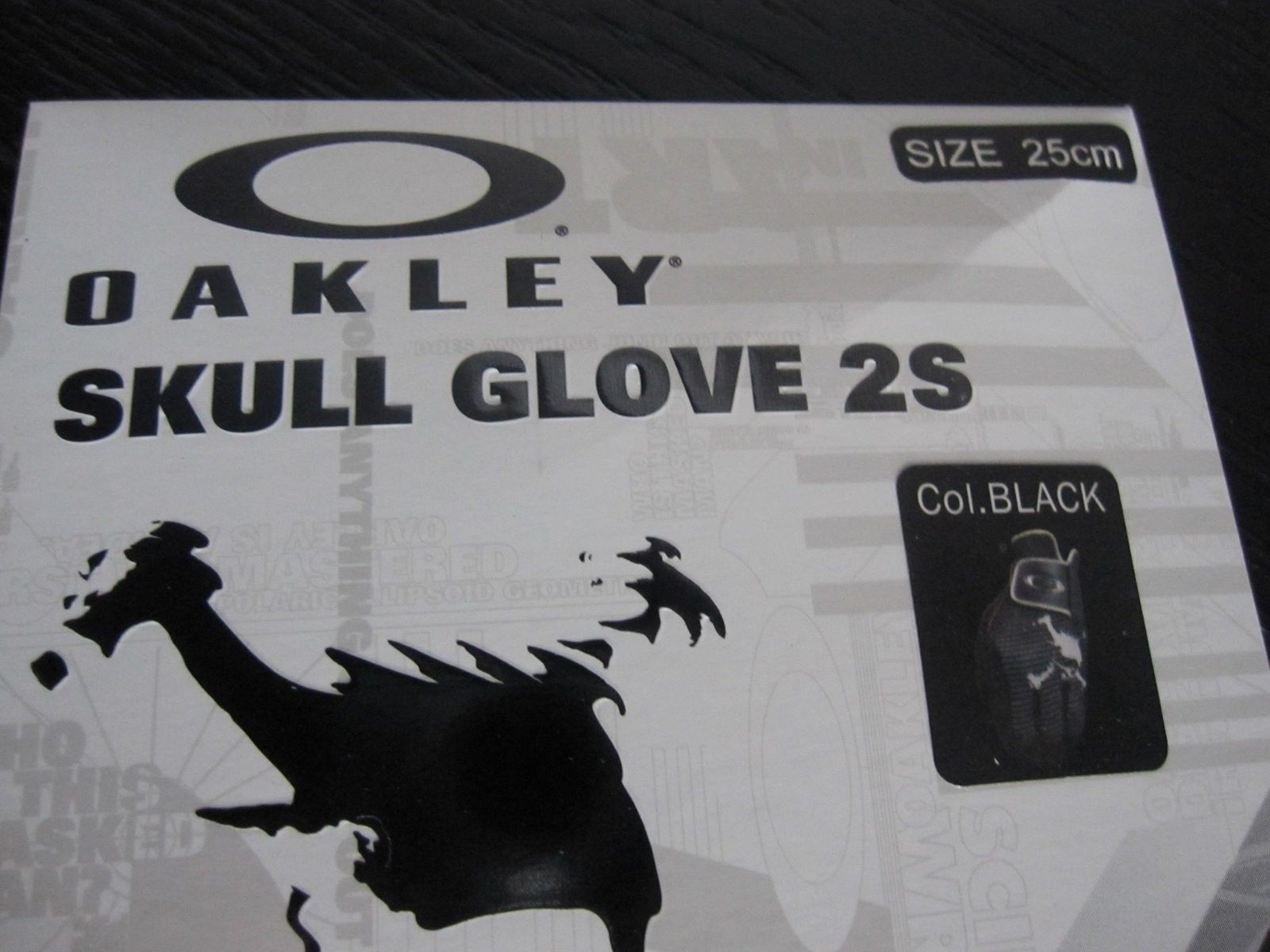 BNIB Oakley Japan Skull Golf Gloves - Size S - IMG_4571.JPG