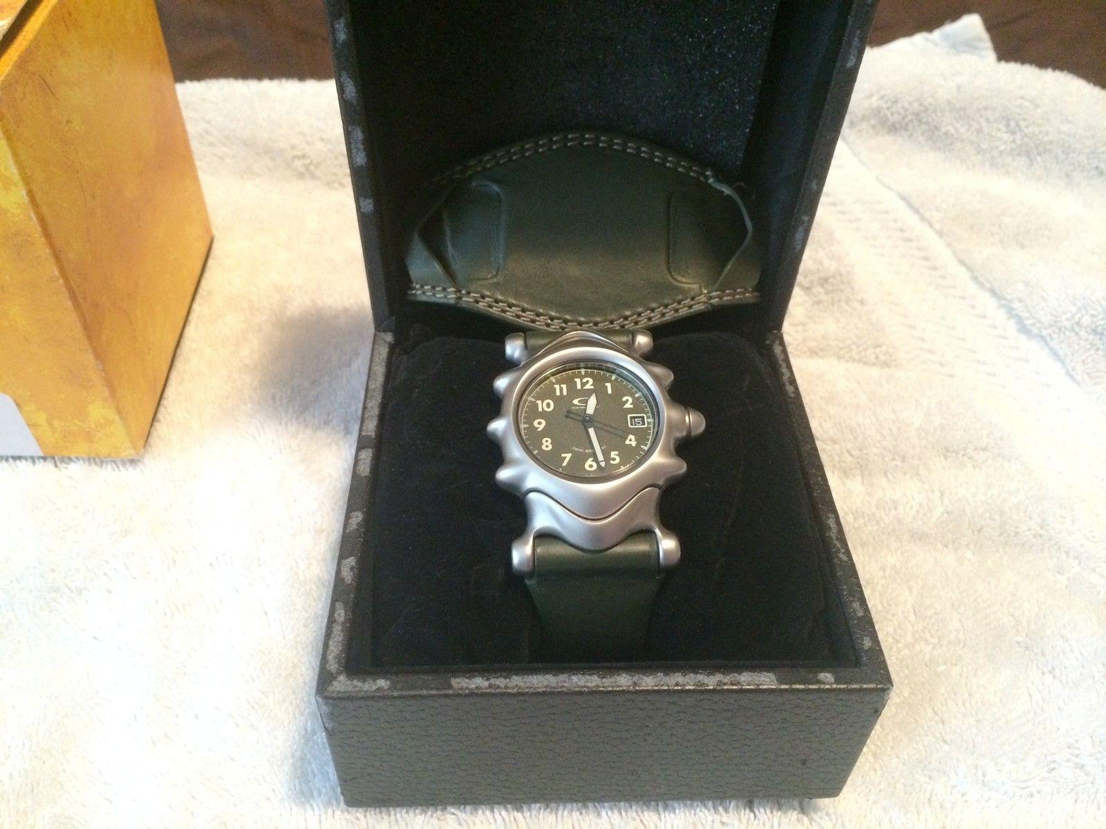 Olive Saddleback Watch BNIB - IMG_4640.JPG