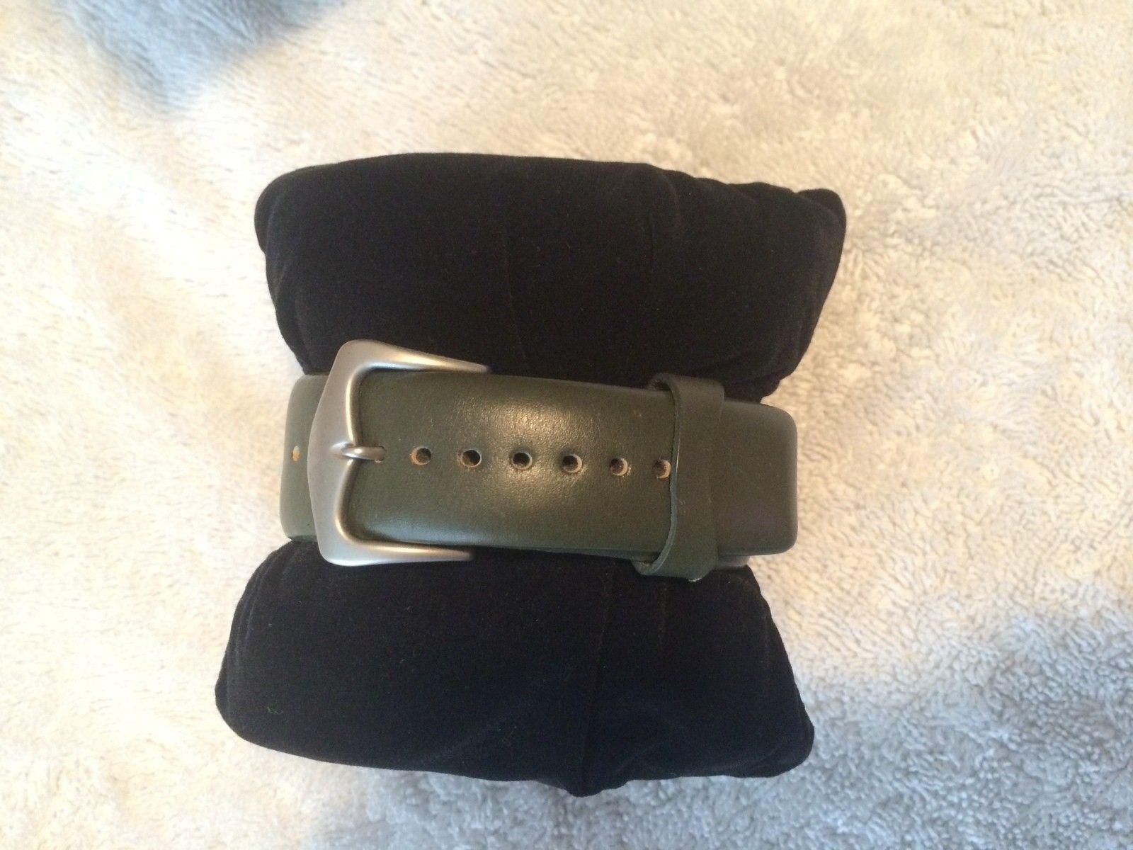 Olive Saddleback Watch BNIB - IMG_4641.JPG