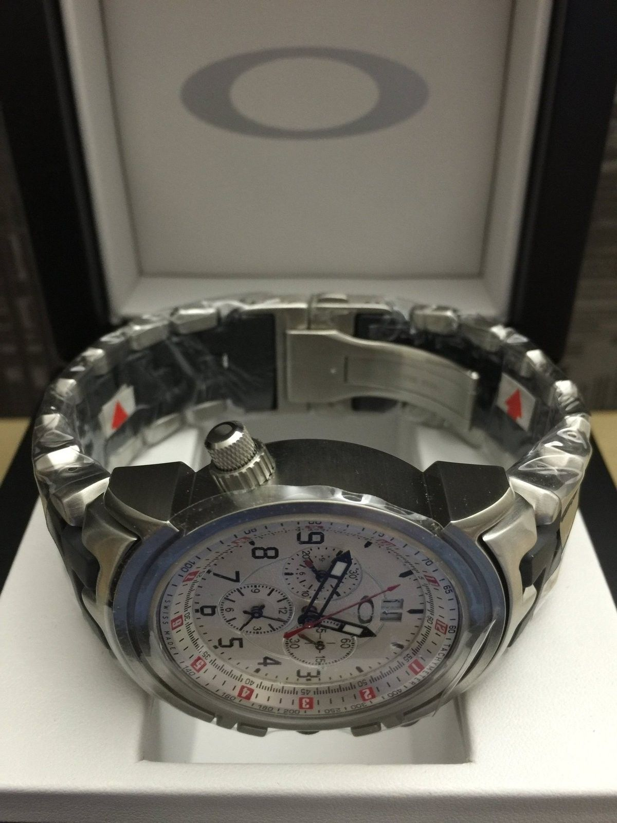 Watches for sale: Brand new 12 Gauge White Dial with Stainless Steel Bracelet (last one) - IMG_4656.JPG