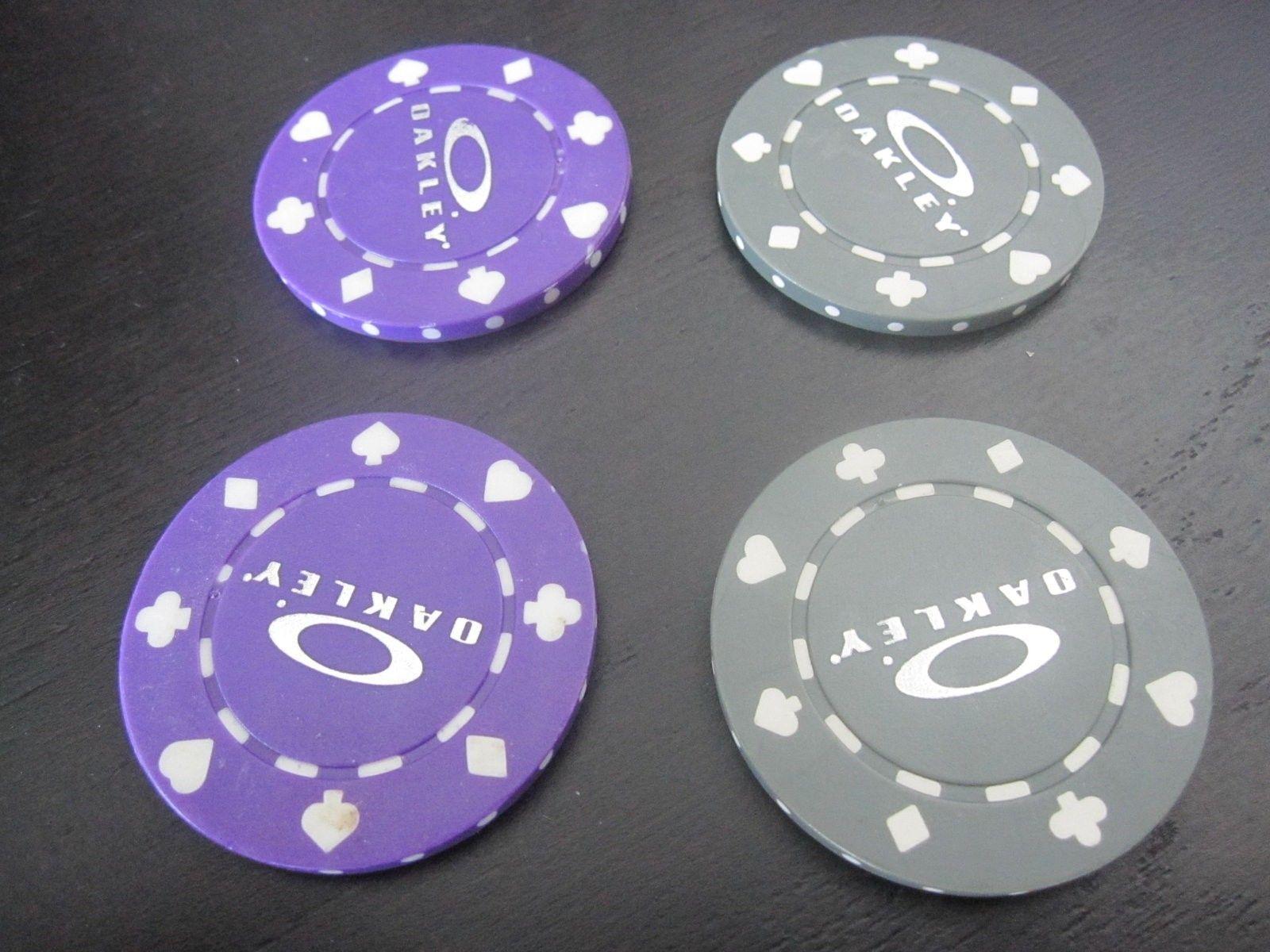4 Oakley Poker Chips - SOLD - IMG_4686.JPG