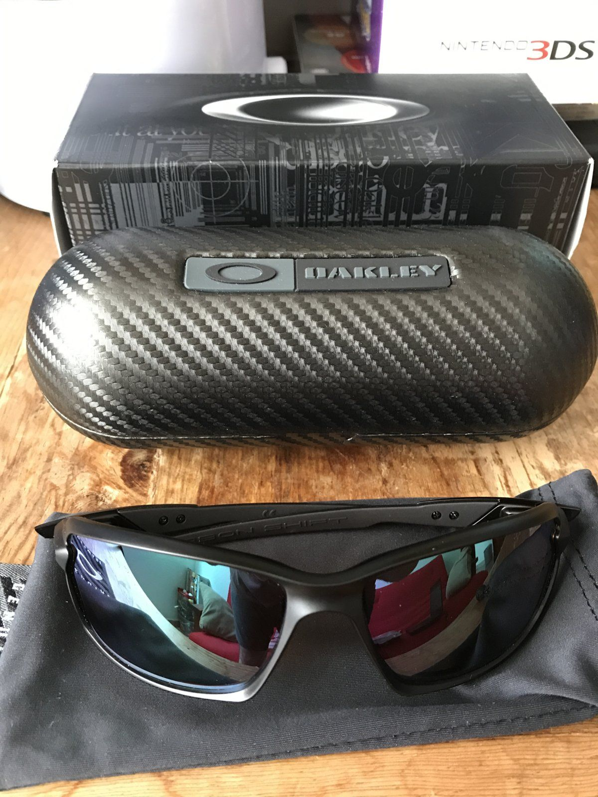 Sold Carbon Shift Shallow Water Prizm 200 Oakley Forum