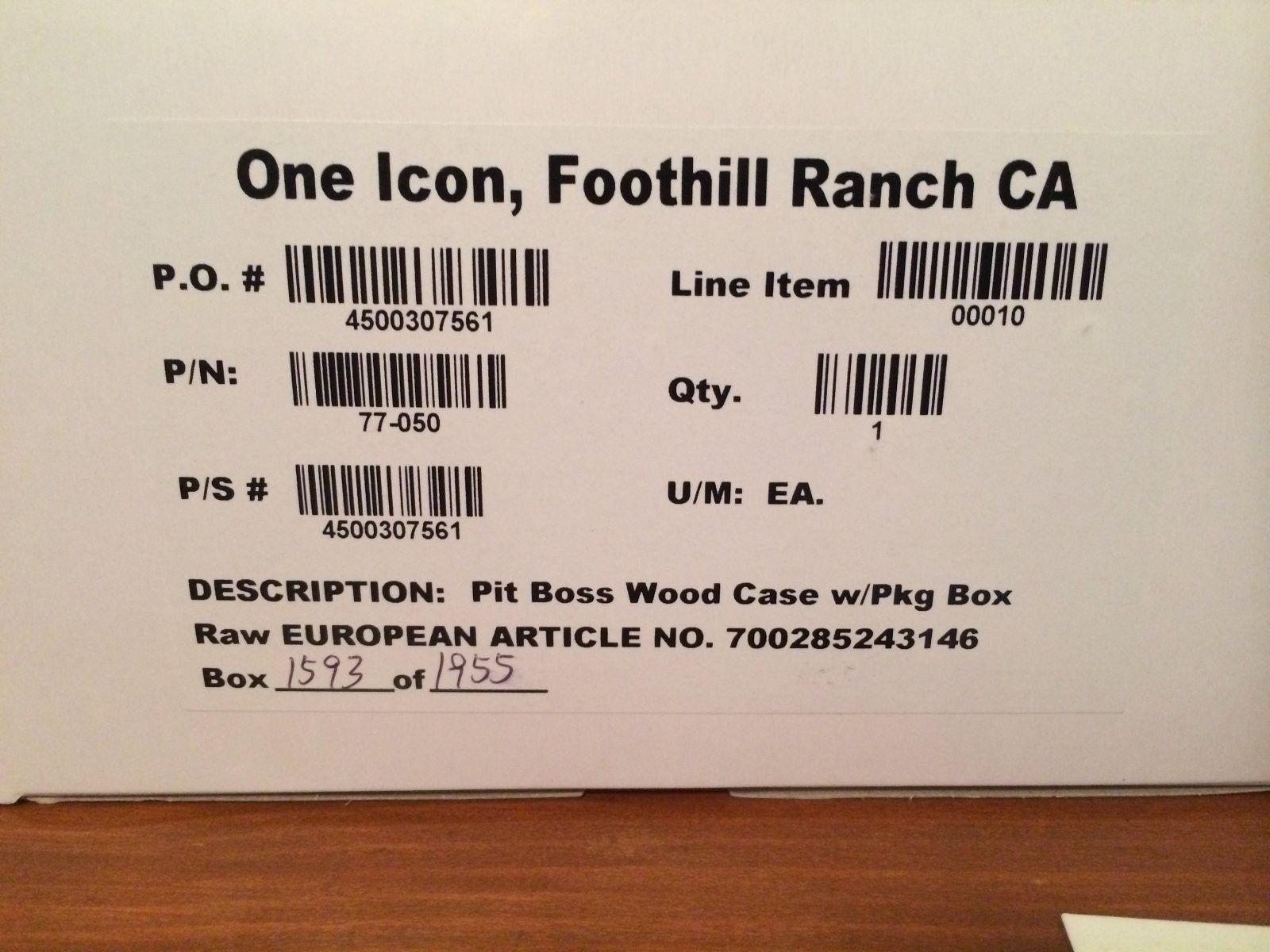 Oakley Contest Package Box W/Pitboss Wooden Case - IMG_4747.JPG