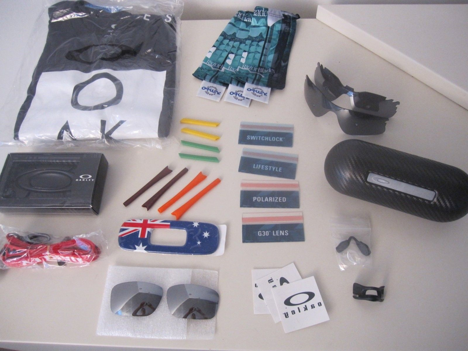 Misc Oakley Bundle - PRICE ADJUST : $50  - GONE - IMG_4754.JPG