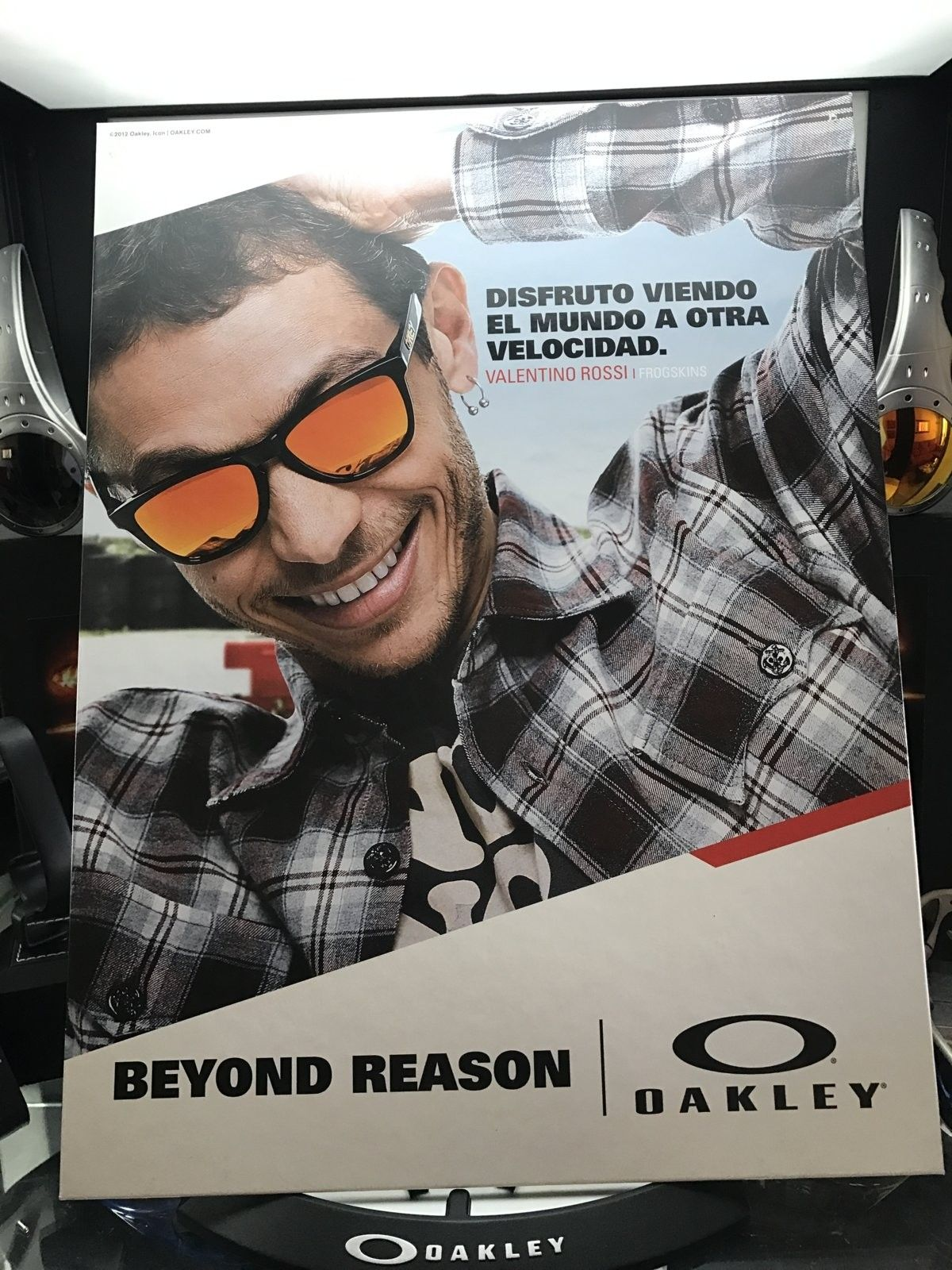 Big display card - Valentino Rossi - frogskins - IMG_4772.JPG