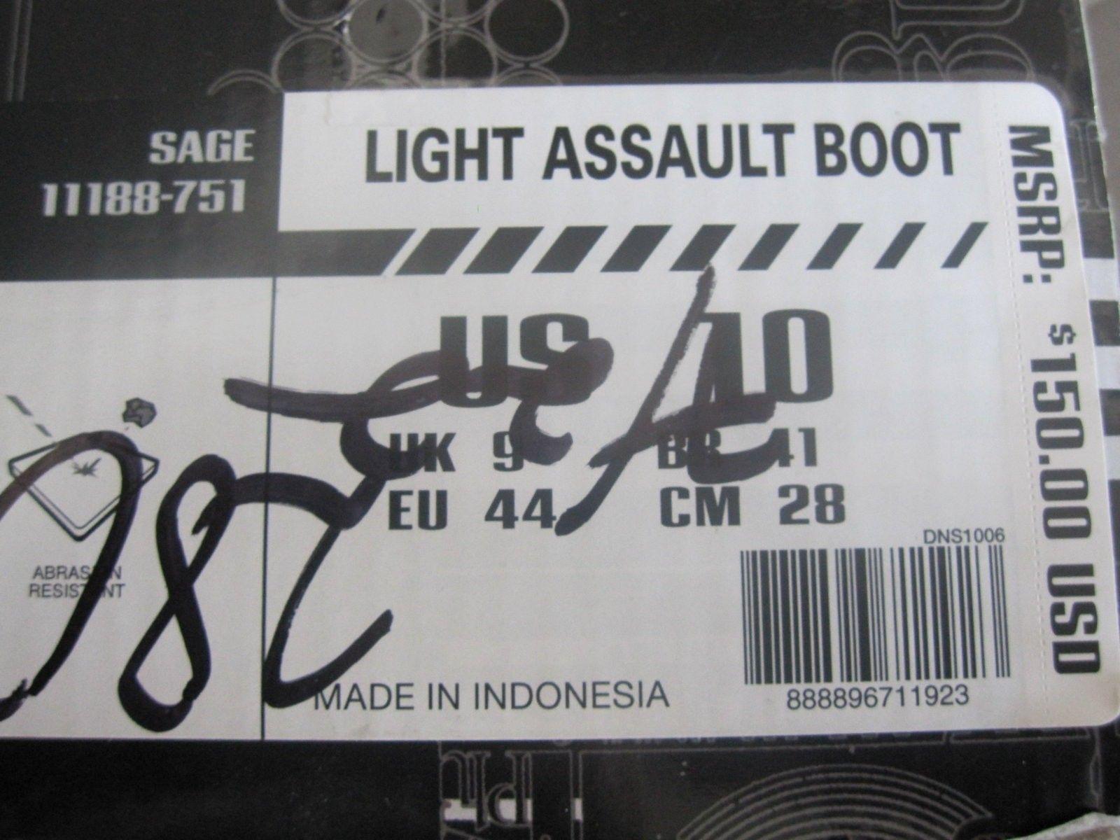 BNIB Light Assault Boots II - Size 10, color Sage Green Air Force - IMG_5036.JPG
