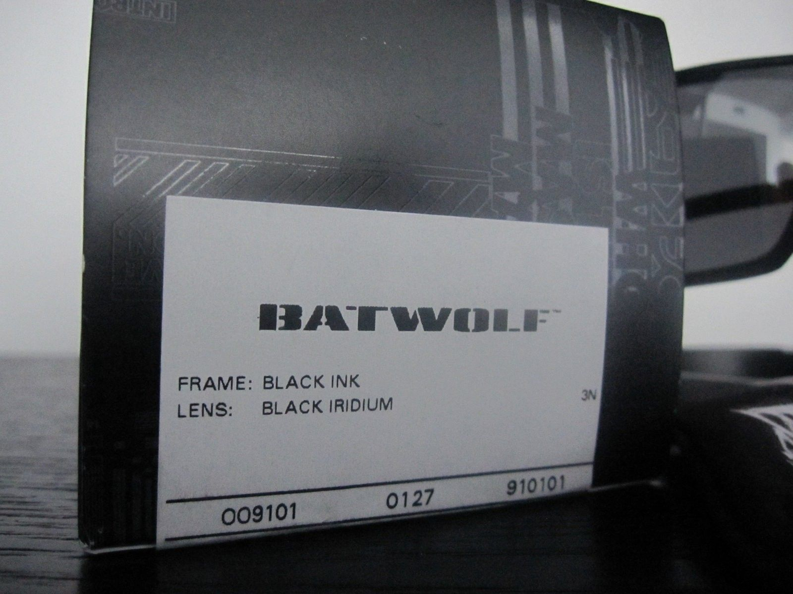 BNIB BATWOLF SKU # 9101-01 - Black Ink / Black Iridium - GONE - IMG_5061.JPG