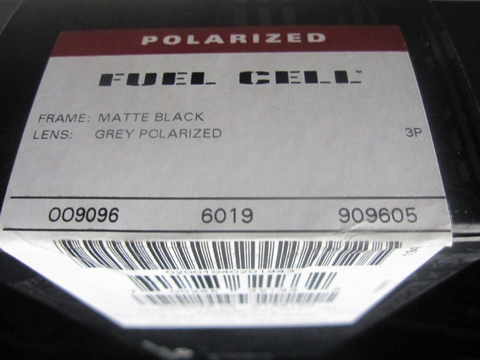 BNIB Fuel Cell Matte Black/Grey Polarized - SKU 9096-05 - IMG_5182.JPG