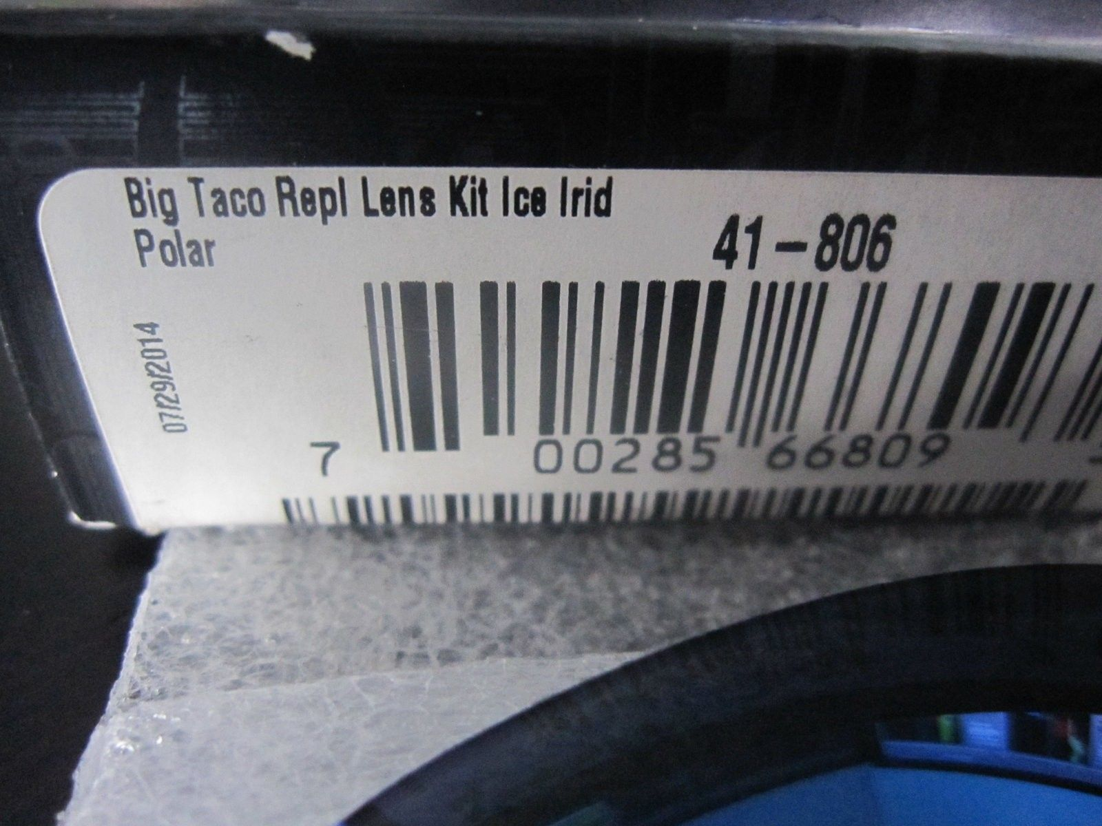 BNIB Big Taco Ice Polarized lenses - SKU 41-806 - Donors for X-Metals - IMG_5447.JPG