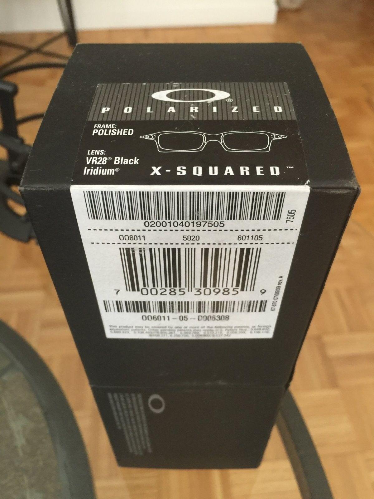 BNIB XS Carbon OO BIP - IMG_5601.JPG