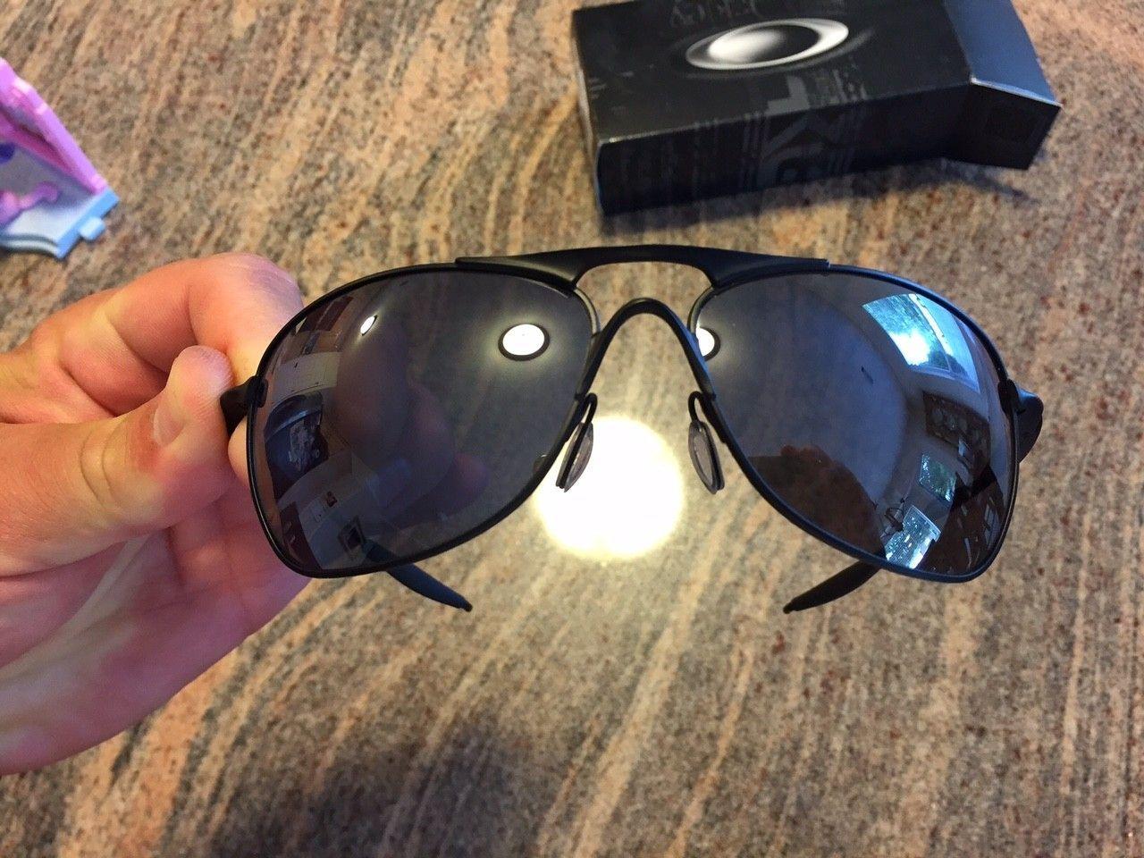 Crosshair - Matte Black/Black Iridium Sunglasses - IMG_5857.JPG