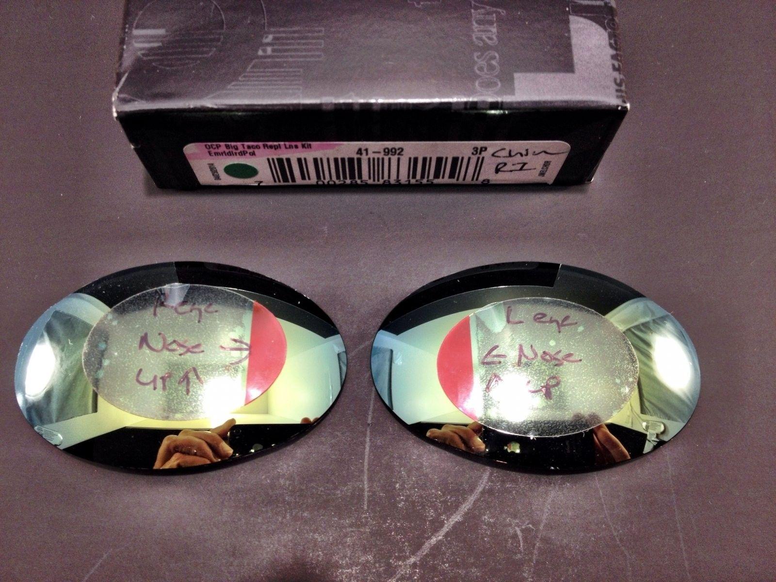 Romeo 1 Custom (Oakely Donor) Emerald Polar Lenses BNIP (Brand New In Pouch) - IMG_5857.JPG