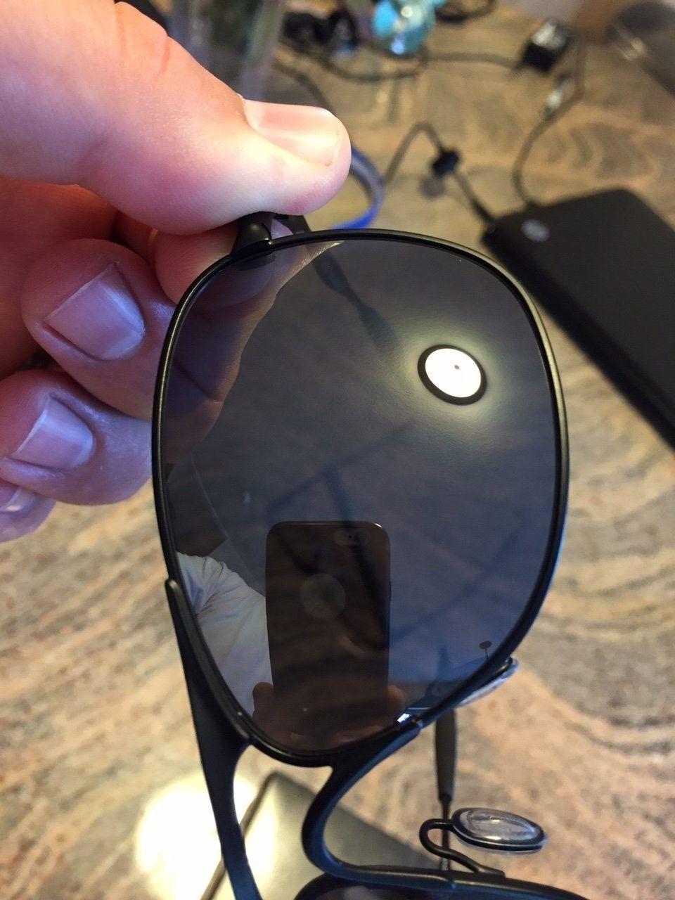 Crosshair - Matte Black/Black Iridium Sunglasses - IMG_5861.JPG