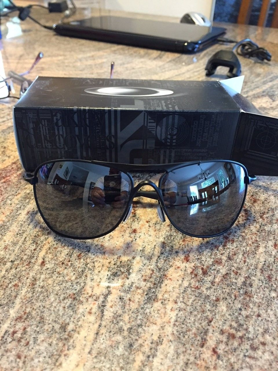 Crosshair - Matte Black/Black Iridium Sunglasses - IMG_5866.JPG