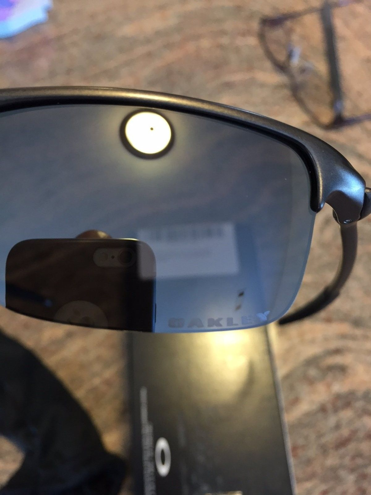Oakley Razrwire Sunglasses. Pewter W/Black Iridium. - IMG_5877.JPG