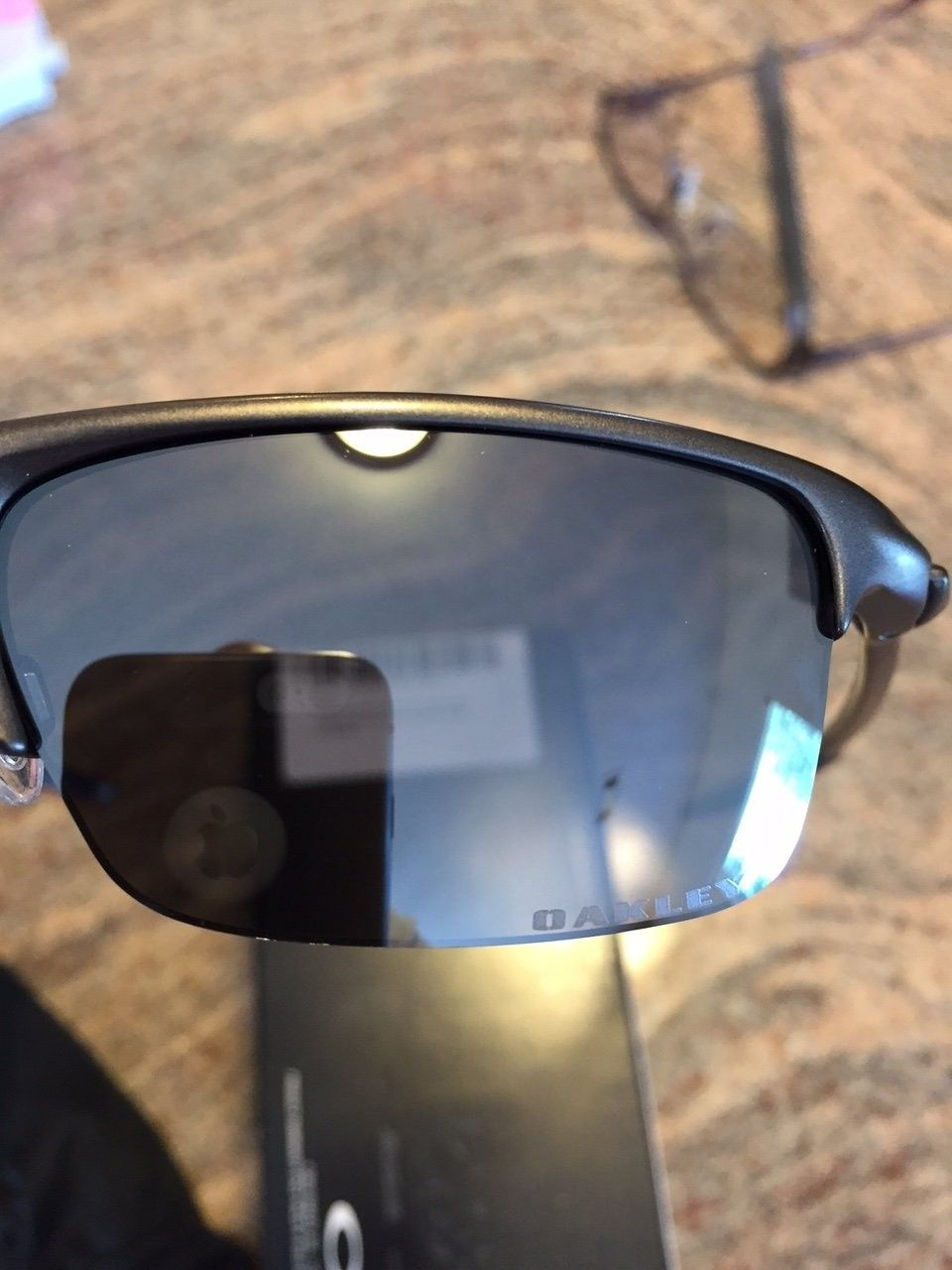 Oakley Razrwire Sunglasses. Pewter W/Black Iridium. - IMG_5878.JPG