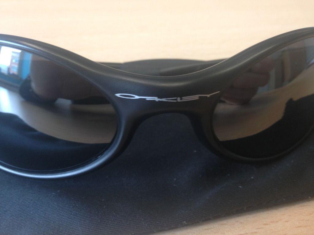"""Oakley Eye Jacket """"New"""" Black / Black iridium - IMG_5965_zpsk7sjkvdg.jpg"""