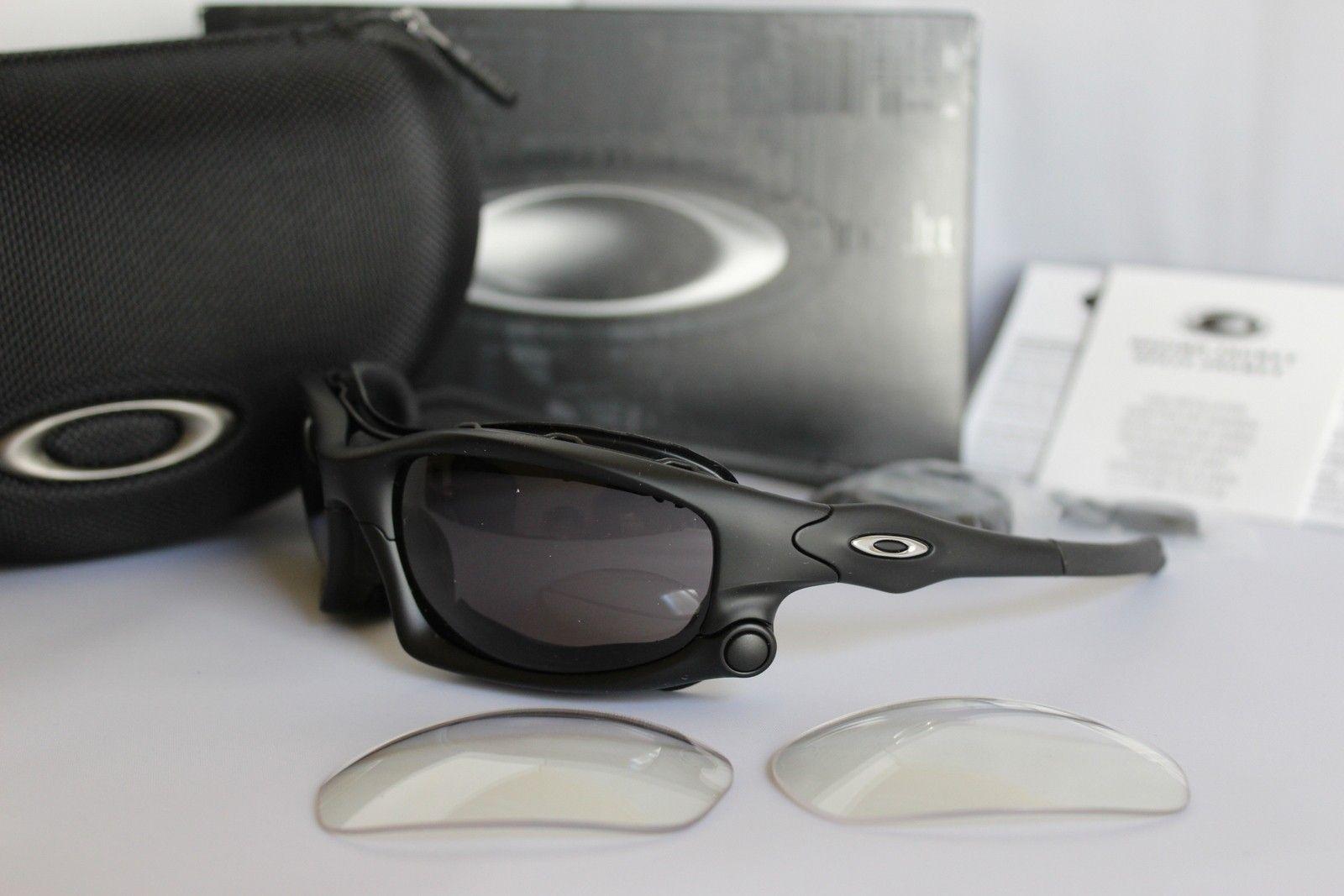 Wind Jacket OO9142-01 Matte Black/Warm Grey & Clear - IMG_6026.JPG
