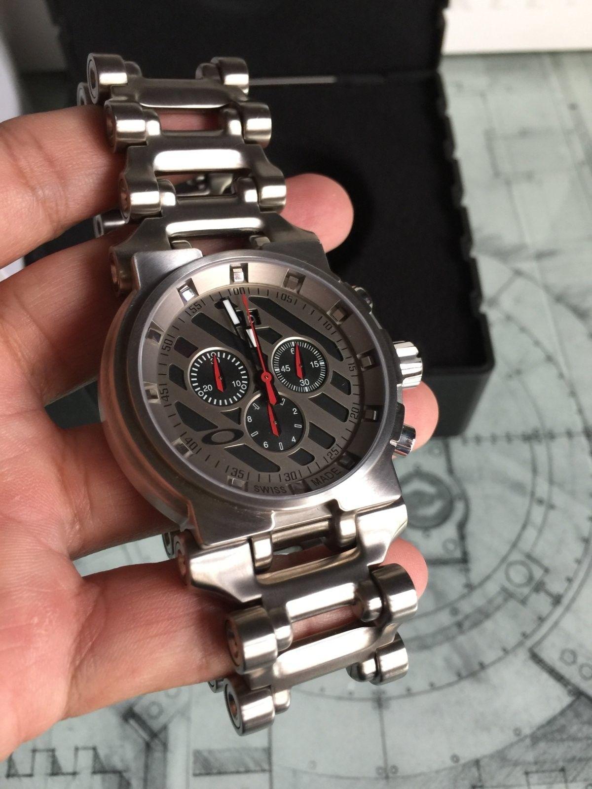 LNIB Black Dial Hollow Point watch - IMG_6064.JPG