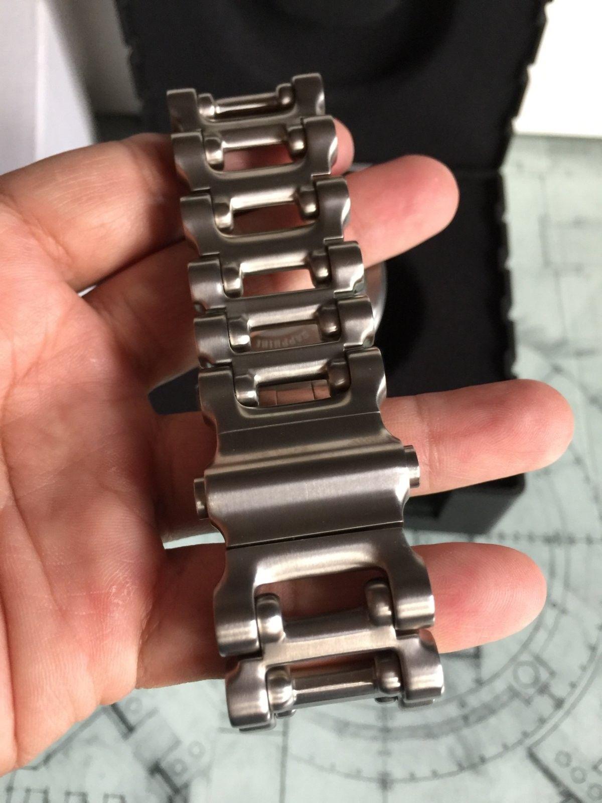 LNIB Black Dial Hollow Point watch - IMG_6065.JPG