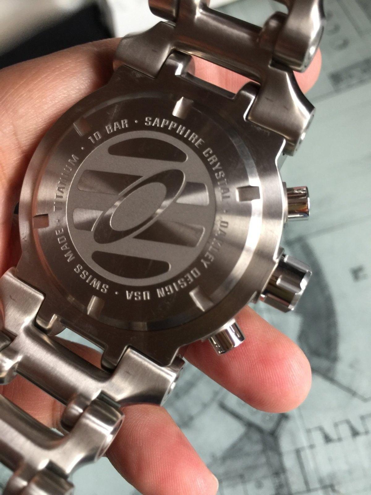 LNIB Black Dial Hollow Point watch - IMG_6066.JPG